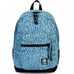 Zaino Invicta - JELEK FANTASY BACKPACK DECORI AZZURRI