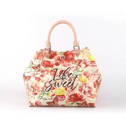 BORSA A MANO PICCOLA - LIFE IS SWEET YNOT?