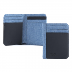 PORTA CARTE DI CREDITO - TWIN 12 CC HOLDER L.BLUE