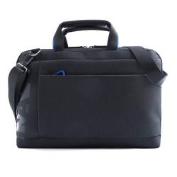 VENTIQUATTRORE - CROSS BRIEFCASE BLACK/BLUE